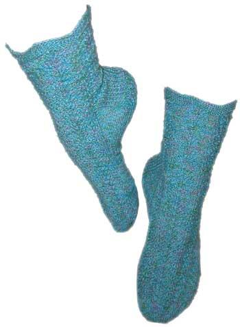 Feather-fan-socks