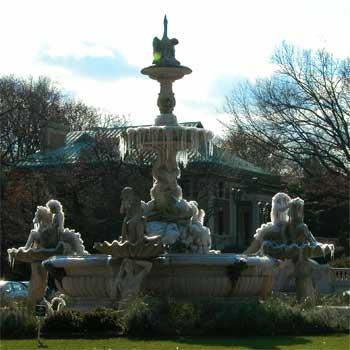 Iced-fountain