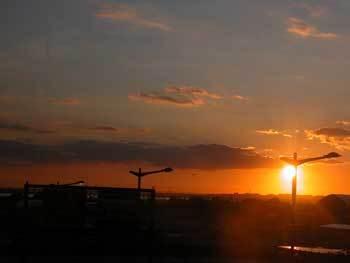 Sunsetoverstatenisland